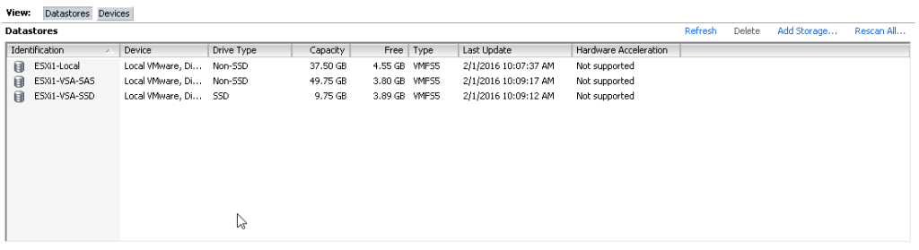 HPE StoreVirtual - VSA - About & installation - LearnVMware